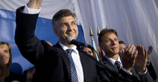 Croatian conservative leader Plenkovic becomes PM-designate